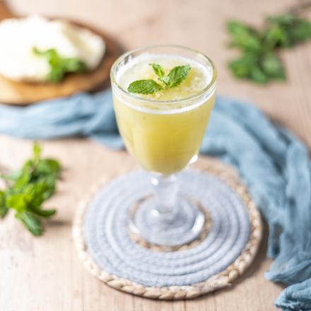 Suco de Abacaxi com hortela
