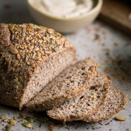 Pão low carb fatiado