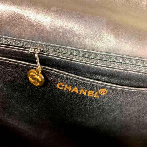 Bolsa Chanel Flap So Black   Couro Lambskin   Preta - marca