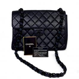 Bolsa Chanel Flap So Black | Couro Lambskin | Preta - principal