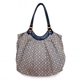 Bolsa Louis Vuitton | Sacola | Mini lin | Cinza - frente