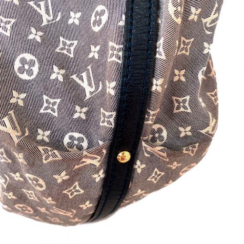 Bolsa Louis Vuitton | Sacola | Mini lin | Cinza - lateral