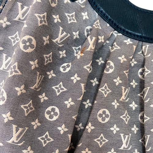 Bolsa Louis Vuitton | Sacola | Mini lin | Cinza - mancha 1