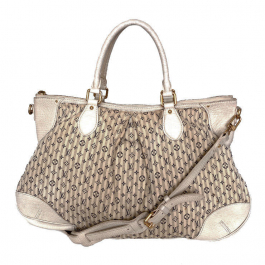 Bolsa Louis Vuitton | Mini Lin | Creme - frente