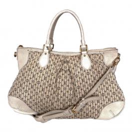 Bolsa Louis Vuitton | Mini Lin | Creme - frente