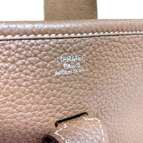 Bolsa Hermès Evelyne PM | Couro | Etoupe - marca