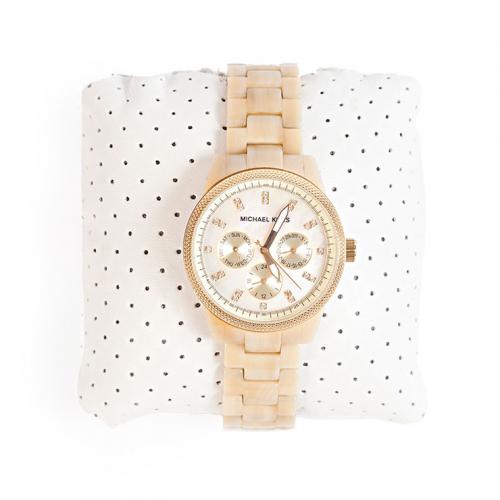 Relógio Michael Kors 5039 | Marfim | Madrepérola - frente