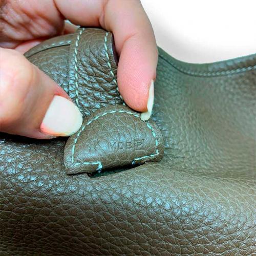 Bolsa Hermès Evelyne PM | Couro | Etoupe - código