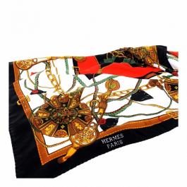 Lenço Hermès | Seda | Estampado