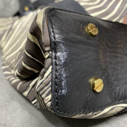 Bolsa Tory Burch   Nylon e couro   Zebrada