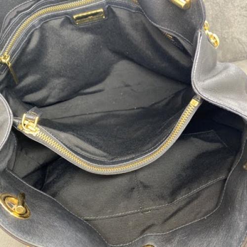 Bolsa Salvatore Ferragamo | Couro | Preta - forro