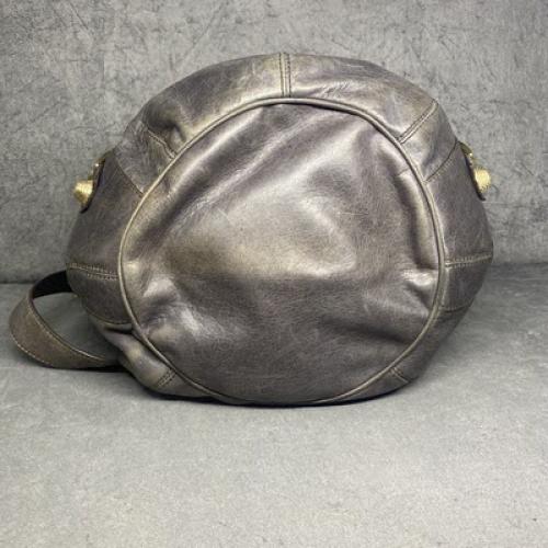 Bolsa Balenciaga Pompon | Giant | Cinza - fundo
