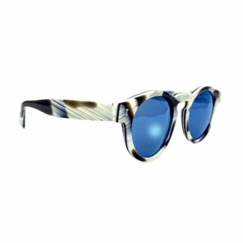 Óculos Illesteva Zebra Lente azul espelhada