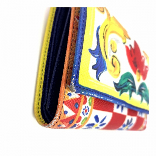 Dolce & Gabbana Carteira Colorida