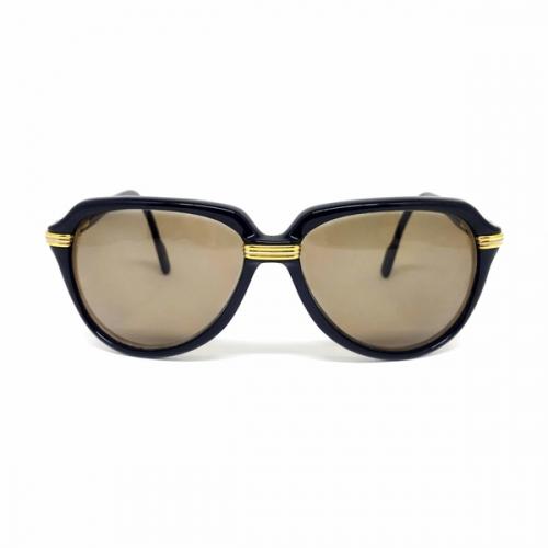 Óculos Cartier 1991 Vintage Preto Raro