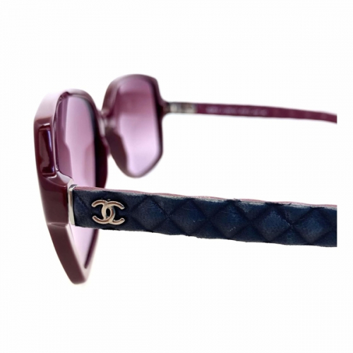 Óculos Chanel | Feminino | Vinho | Haste emborrachada