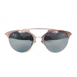Óculos Dior | Lente espelhada | Prateado - frente