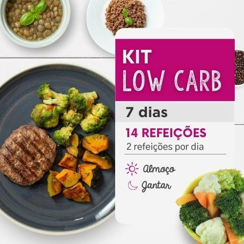 Kit Low Carb 7 dias Almoço e Jantar - Da Mamãe Fitness