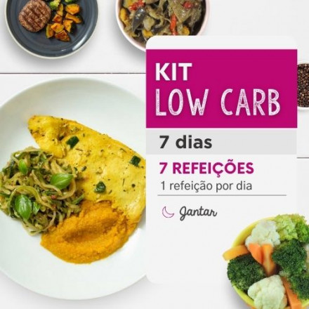 Kit Low Carb 7 dias - Da Mamãe Fitness