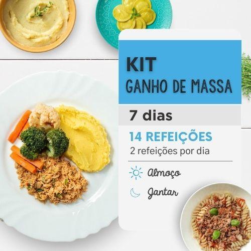 Ganho de Massa | 7 Dias | Almoço e Jantar | Marmitas Fitness