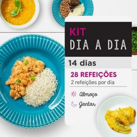 Kit dia a dia | Saudável | 14 dias almoço e Jantar | Comida Saudável