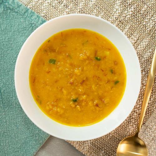 Sopa Fit Creme de abobora com carne seca