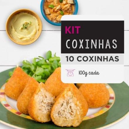 Coxinha Fit | Deliciosa e Saudável | Da Mamãe Fitness