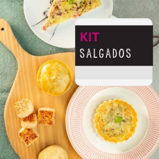Kit de Salgados Fit Da Mamãe Fitness