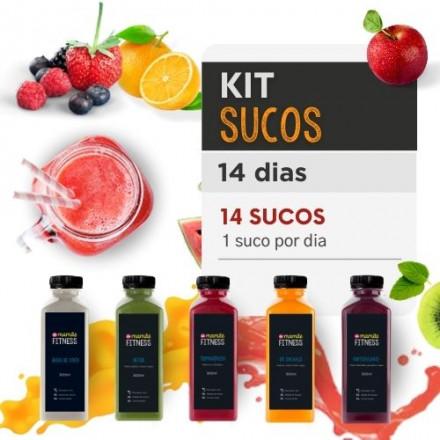 Sucos Detox 14 dias - Da Mamãe Fitness