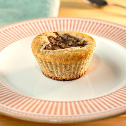 Muffin de banana Zero açúcar Da Mamãe Fitness