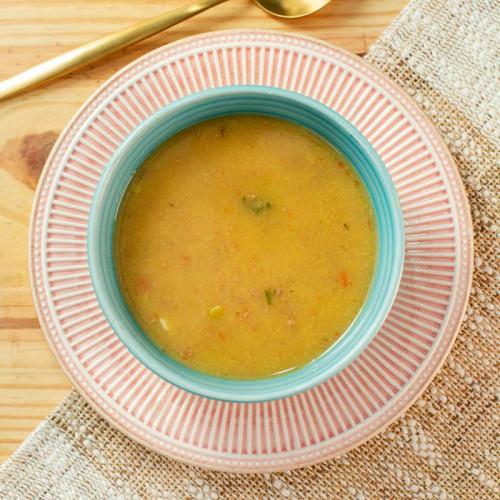 Sopa Fit de Mandioquinha com Carne Da Mamãe Fitness