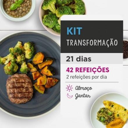 Kit Emagrecimento Transformação 21 dias Almoço e Jantar - Da Mamãe Fitness
