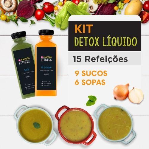 Detox Liquido | Da Mamãe Fitness