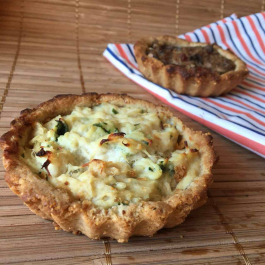 Quiche Low Carb Frango