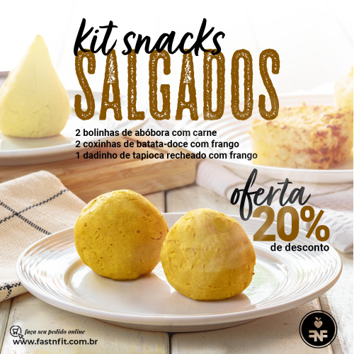 kits snacks salgados