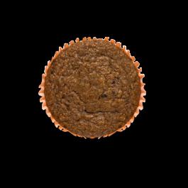 muffin integral de maçã e nozes