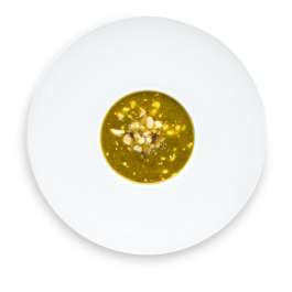 sopa de batata doce e lentilha