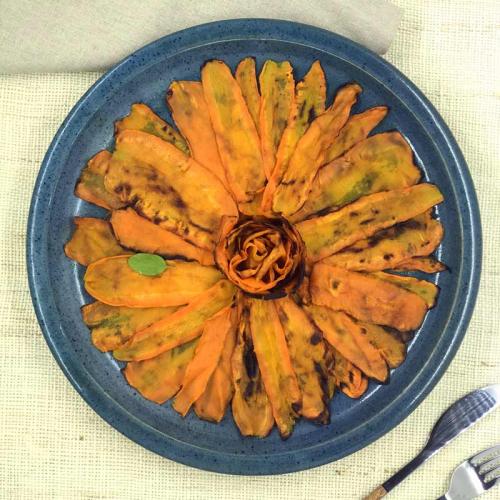Cenoura laminada