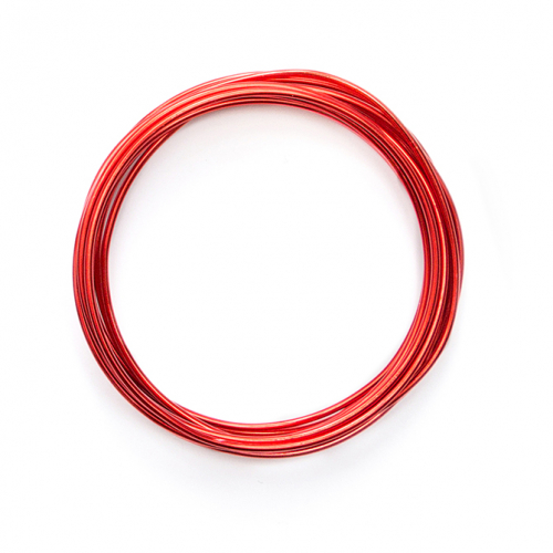 We R - ARAME FLEXÍVEL NA COR VERMELHA PARA HAPPY JIG - COLOR WIRE RED - (660276)
